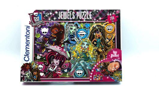 CLEMENTONI - Puzzle 200 monster-trblietavý