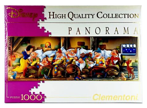 CLEMENTONI - Puzzle1000 Disney Panorama
