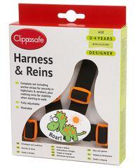 CLIPPASAFE - Vodítko pre dieťa - Dinosaur