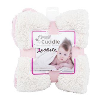CUDDLEME - CUDDLECO Super mäkká obojstranná detská deka, Blush