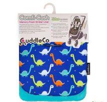 CUDDLEME - Pamäťová podložka do kočíka Comfy-cush, Dinosaurs