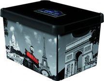 CURVER - Dekoratívny úložný box - L - PARIS