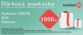 Darčeková poukážka - 1000 Kč