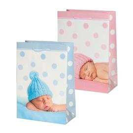DELFIN - Taška darčeková Pixel L-2 Baby mix (32x23x11 cm)