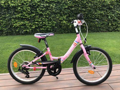 DEMA - Detský bicykel AGGY 20 6sp pink bazár