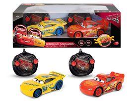 DICKIE - RC Cars 3 Súprava Blesk McQueen a Cruz Ramirezová