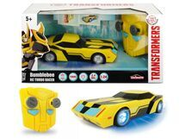 DICKIE - RC Transformers RC Turbo Racer Bumblebee 1:24, 18 cm, 2kan