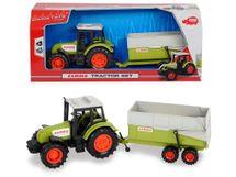 DICKIE TOYS - Traktor Claas s prívesom 3736004