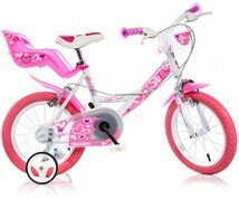 DINO BIKES - Detský bicykel Dino 16 so sedačkou na bábiku