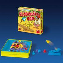 DINO - Klobúčik Hop Hra