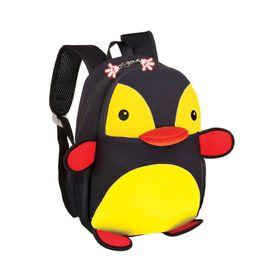 EASY - Batoh neoprenový - detský, tučniak čierno - žltý