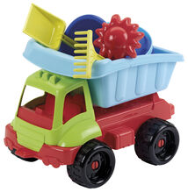 ECOIFFIER - Nákladné autíčko s formičkami 34 cm