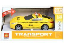 EURO-TRADE - Auto Taxi na zotrvačník na batérie 16cm