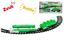 EURO-TRADE - Vlak s vágonmi a dráhou