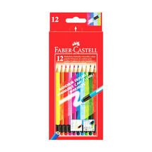 FABER CASTELL - Pastelky Faber-Castell gumovateľné 12 farieb