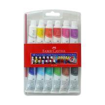 FABER CASTELL - Temperové farby Faber-Castell v tube 12 ml, 12 farieb