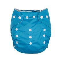 GMINI - Nohavičky plienkové modrá UNI
