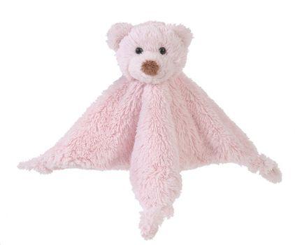 HAPPY HORSE - maznáčik medvedík Boogy - Ružový