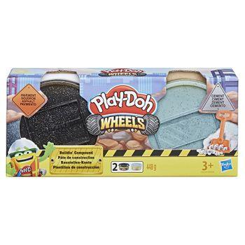 HASBRO - Play Doh Wheels Stavebná Plastelína - Mix