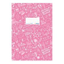 HERMA - Obal na zošit Schooldoo A4 svetlo ružový /1ks