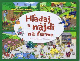 Hľadaj a nájdi na farme - Delphine Clarisse