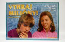 HYDRODATA - Spoločenská hra - MILIONÁR JUNIOR