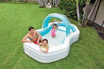 INTEX - bazén Swim center oválny Family Cabana 57198