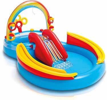 INTEX - bazénové hracie centrum s dúhou