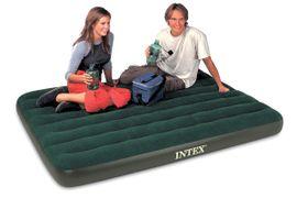INTEX - Intex nafukovacia posteľ 66968 Full Prestige Downy s priloženou elektrickou pumpou