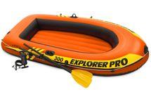 INTEX - Nafukovací čln 58358 Explorer Pro 300 set