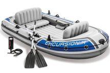 INTEX - nafukovací čln Excursion 4 SET