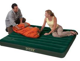 INTEX - nafukovacia posteľ 66929 QUEEN Downy s integrovanou pumpou