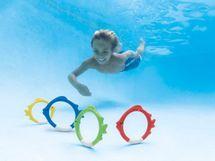 INTEX - ponorné krúžky v tvare rybyčiek 55507