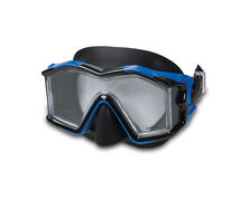 INTEX - potápačské okuliare silikónové panoramatické L