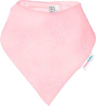 IVEMA BABY - Fleesová šatka na krk - svetlo-ružová