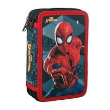 JUNIOR-ST - Peračník 3-poschodový/plnený Spider-Man, Black