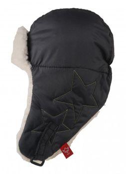 KAISER - Detská čiapka star - veľ. 50/52 (13-24 mesiacov) - Anthrazit