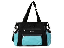 KALENCOM - Prebaľovacia taška Nola - Black/Aquarelle