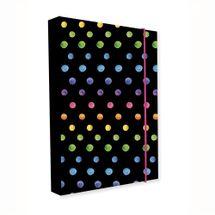 KARTON PP - Box na zošity A4 Jumbo Dots Colors