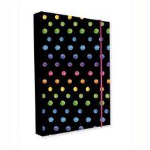 KARTON PP - Box na zošity A5 Jumbo Dots Colors