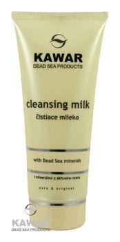 KAWAR - Čistiace mlieko s minerálmi z Mŕtveho mora 200ml