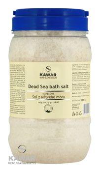 KAWAR - Kúpeľová soľ z Mŕtveho mora 2000g