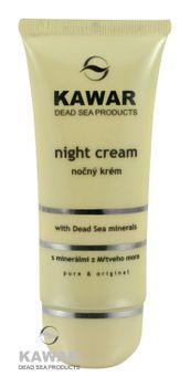 KAWAR - Nočný krém s minerálmi z Mŕtveho mora 60ml