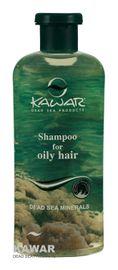 KAWAR - Šampón na mastné vlasy s minerálmi z Mŕtveho mora 400ml