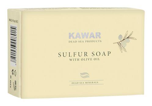 KAWAR - Sírové mydlo s minerálmi z Mŕtveho mora 120g