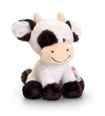 KEEL TOYS - Pippins plyšová kravička 14cm