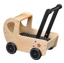 KIDS CONCEPT - Kočiarik drevený Neo natural