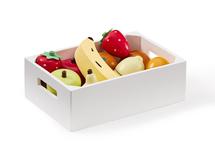 KIDS CONCEPT - Ovocie v debničke drevené Bistro