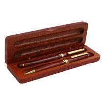 KIKO - Súprava drevená guľ. pero+ keramické pero