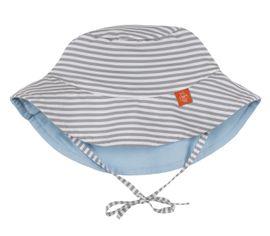 LÄSSIG - Klobúčik Sun Protection Bucket Hat - small stripes 18-36 mesiacov